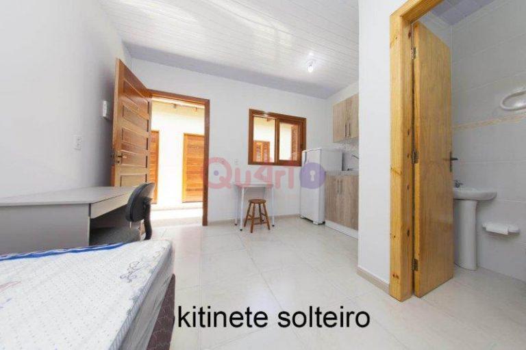 QU4RTO'S 67 – Kitnet – Solteiro